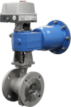 Metso R-series V-port Segment Valves
