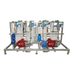 Dosing Skid for Various Raw Materials