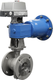 Neles V-segment valves