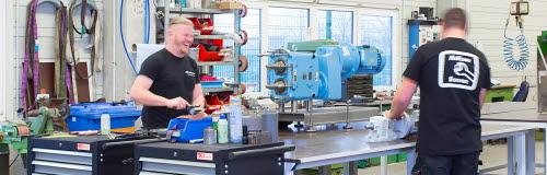 Werkstatt von AxFlow Service Süd in Memmingen