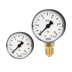 WIKA manometer type 111.10 og 111.12