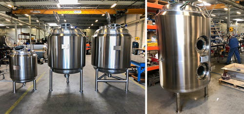 rvs buffertanks tankbouw AxFlow Systems
