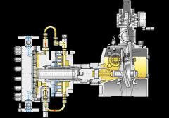 OBL serie MMXAA hydrauliska membranpumpar