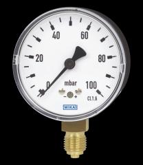 WIKA manometer type 611.10