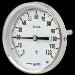WIKA bimetall skivetermometer type 52