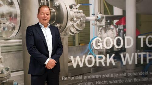 Managing Director AxFlow BV Klaas van de Poppe