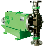 Seria PULSA - pompe dozatoare acţionate hidraulic