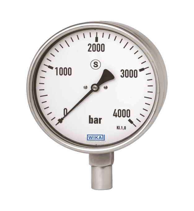 WIKA manometer type 222.30