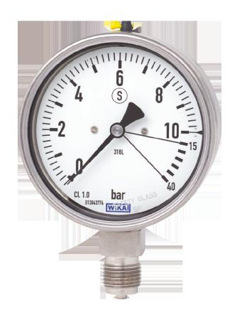 WIKA manometer type 23x.36