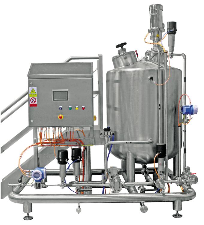 Dávkovací a míchací jednotka antimikrobakteriálního roztoku