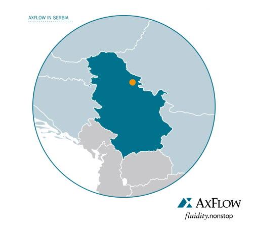AxFlow Serbien d.o.o. als Tochterfirma von AxFlow Österreich