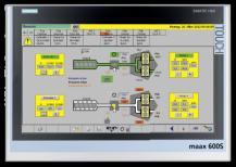 Maag maax 600S - Styrsystem för extruderlinjer
