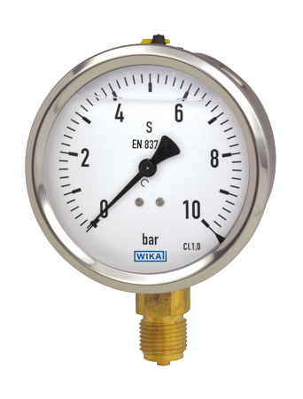 WIKA manometer type 213.53