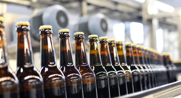 Pomp voor brouwerijen en dranken.