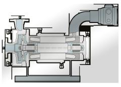 Pompe Hermag per alto punto di fusione