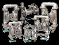 Pompe à membrane pneumatique alimentée au gaz naturel