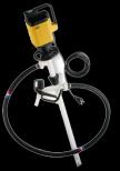 Lutz fatpumpe for konsentrerte syrer og alkalier/baser