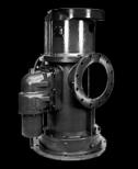 Bomba de três parafusos Houttuin - Gama Auto-ferrante de configuração vertical para líquidos lubrificantes
