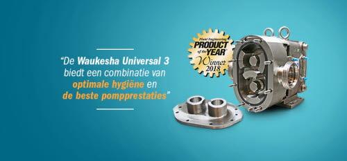 Waukesha Universal 3 Product of the Year 2018