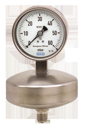 WIKA manometer type 632.51