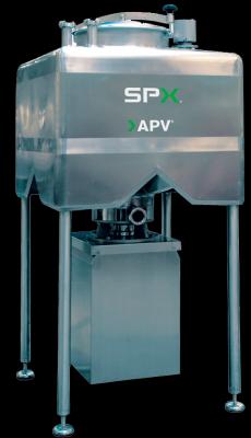 Der APV Flex-Mix Inline-Chargenmischer zum Mischen von Pulvern und Partikeln mit Flüssigkeiten