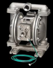 Pompe pneumatice speciale pentru lichidele inflamabile