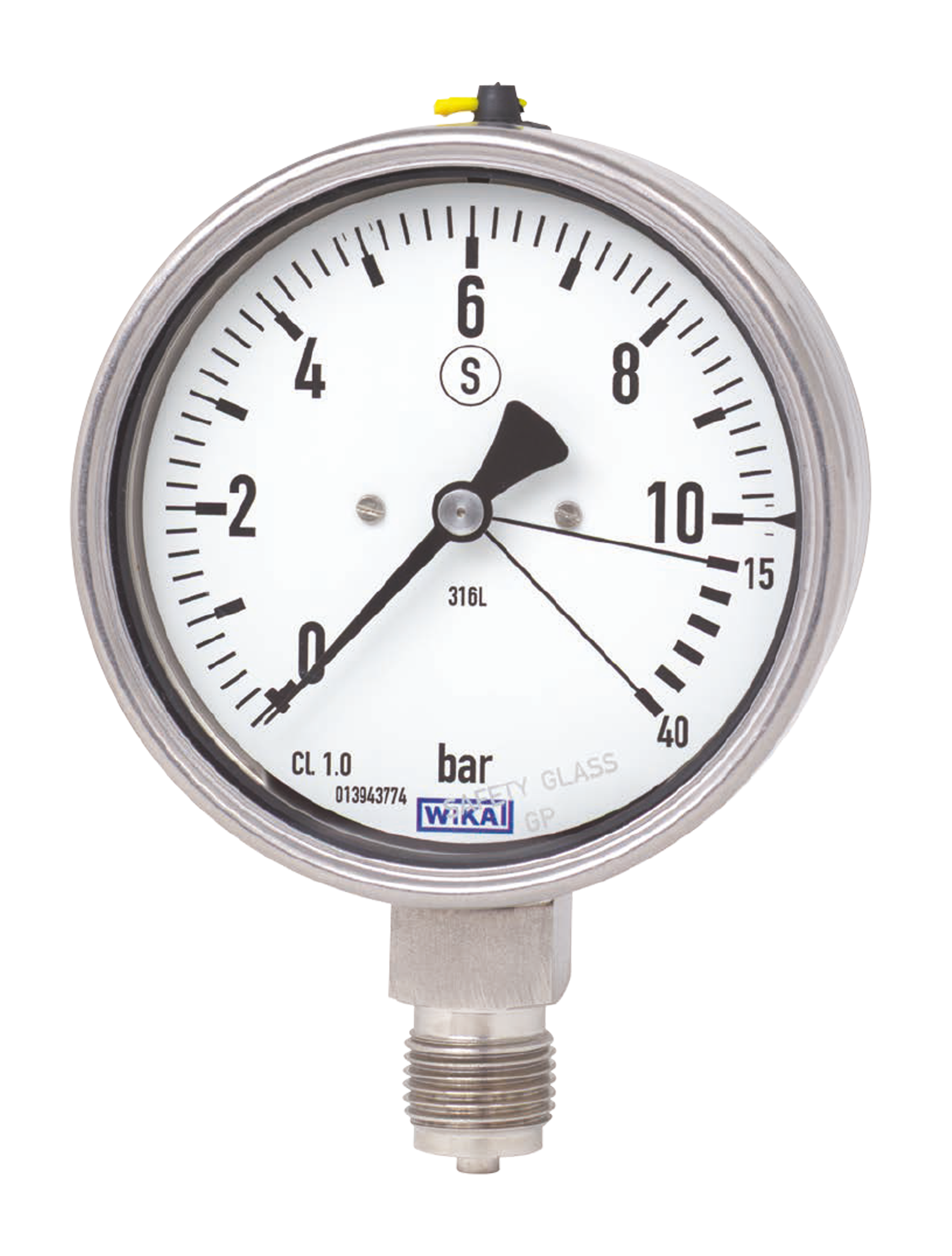 WIKA manometer type 23x.36