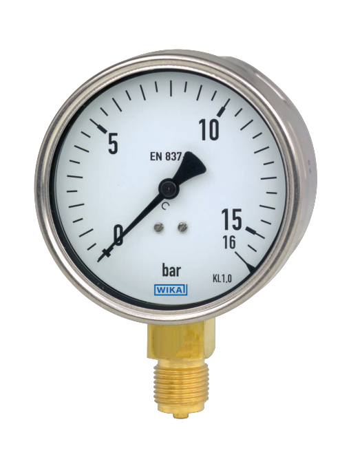 WIKA manometer type 212.20
