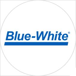 Blue-White logotype
