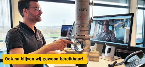 AxFlow bereikbaarheid via Skype